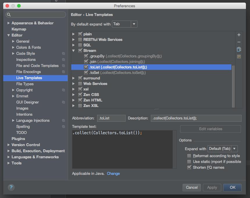 Fixing Java 8 Stream Gotchas with IntelliJ IDEA